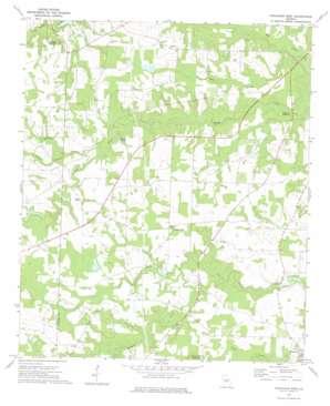 Finleyson West topo map
