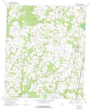 Pinehurst topo map