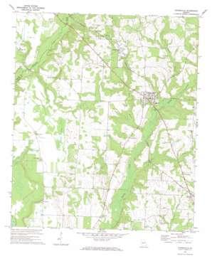 Byromville topo map