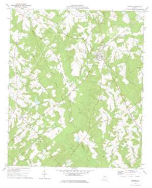 Cadwell topo map