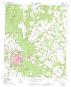 Hawkinsville topo map