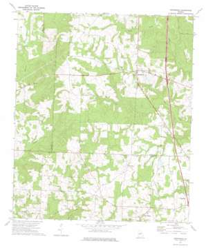 Henderson topo map