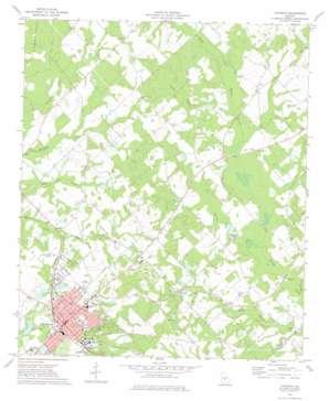 Cochran topo map