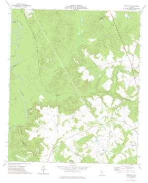 Westlake topo map