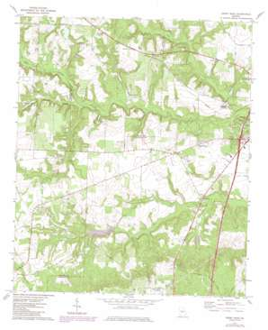 Perry West topo map