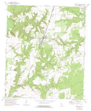 Marshallville topo map