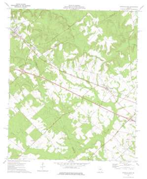 Danville East topo map