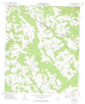 Danville West topo map