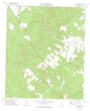 Tarversville topo map