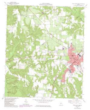 Fort Valley West USGS topographic map 32083e8