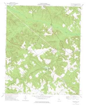Nicklesville topo map