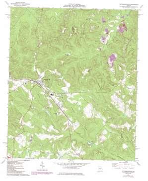 Jeffersonville USGS topographic map 32083f3