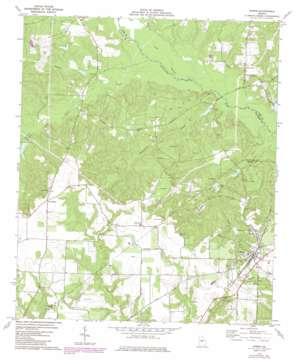 Byron topo map