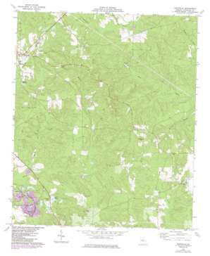 Knoxville USGS topographic map 32083f8