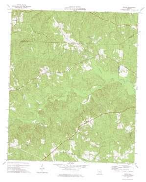 Moran topo map