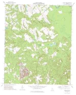 Napier Pond topo map