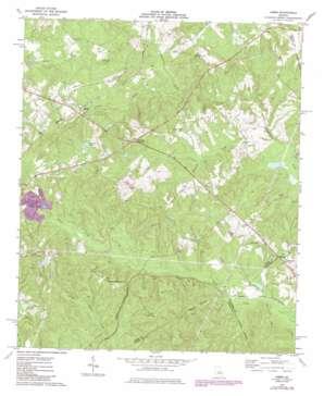 James topo map