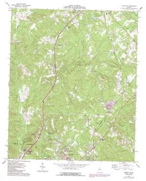 Macon Ne topo map