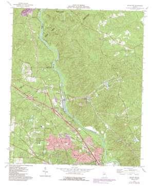 Macon Nw topo map