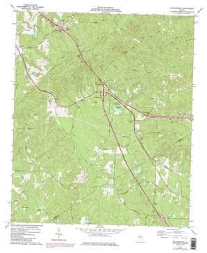 Bolingbroke USGS topographic map 32083h7