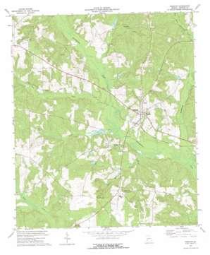 Preston topo map