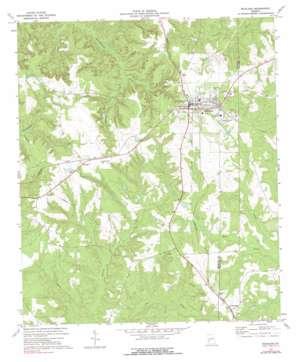 Richland topo map