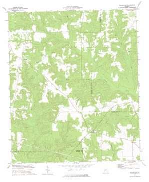 Draneville topo map