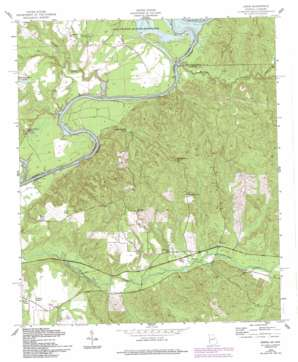 Union topo map