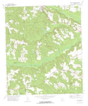 Ideal South topo map