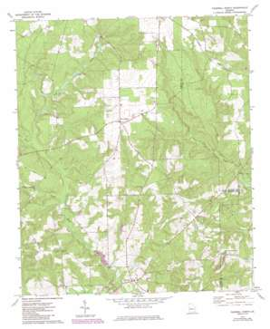 Tazewell North topo map