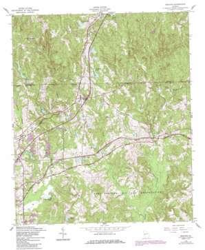 Midland topo map