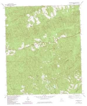 Baldwinville topo map