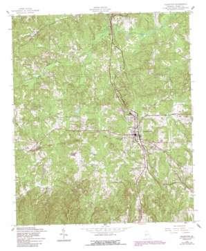 Talbotton USGS topographic map 32084f5