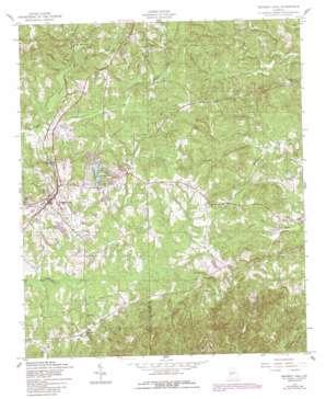 Waverly Hall topo map