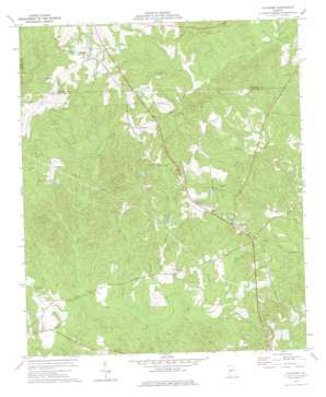Culloden topo map