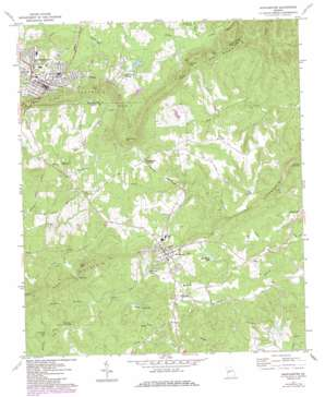 Manchester topo map