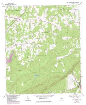 Pine Mountain SW USGS topographic map 32084g8