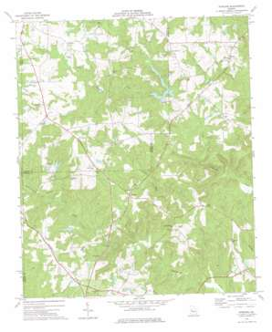 Strouds topo map