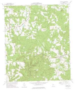 Yatesville topo map