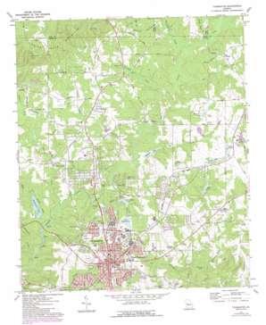 Thomaston topo map
