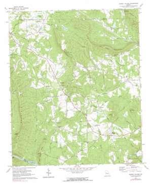 Sunset Village topo map