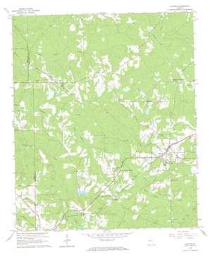 Durand topo map
