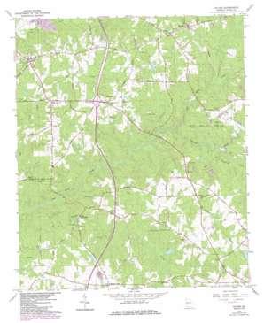 Hilyer topo map