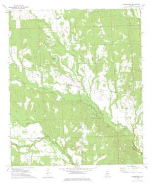 Rutherford topo map