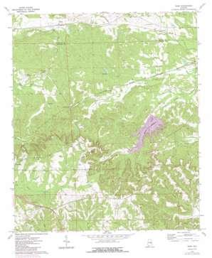 Roba topo map