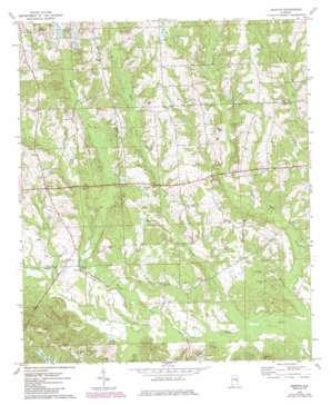 Marvyn topo map