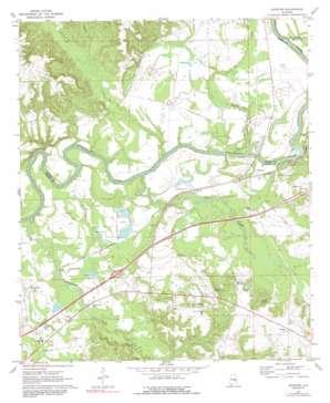 Shorter topo map