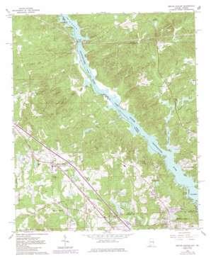 Smiths Station topo map