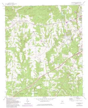 Loachapoka topo map