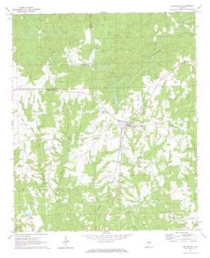 Notasulga topo map